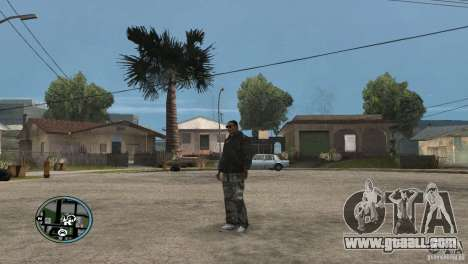 GTAIV HUD for a wide screen (16: 9) v2 for GTA San Andreas