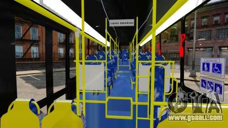 Busscar Urbanuss Pluss 2009 Le VIP Itaim Paulist for GTA 4 back view
