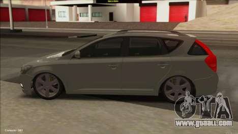 Kia Ceed SW for GTA San Andreas left view