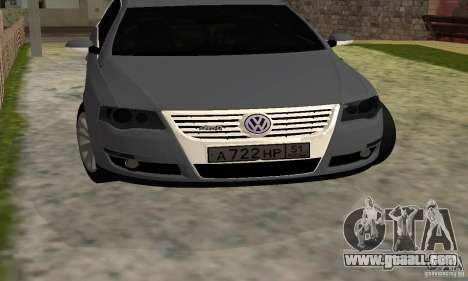 Volkswagen Passat B6 Variant for GTA San Andreas back view
