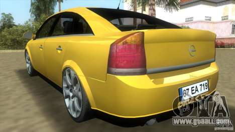 Opel Vectra for GTA Vice City right view