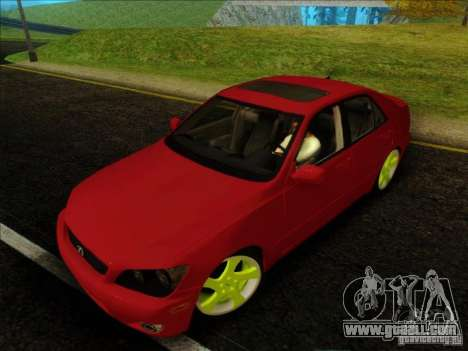 Lexus IS300 Edit for GTA San Andreas