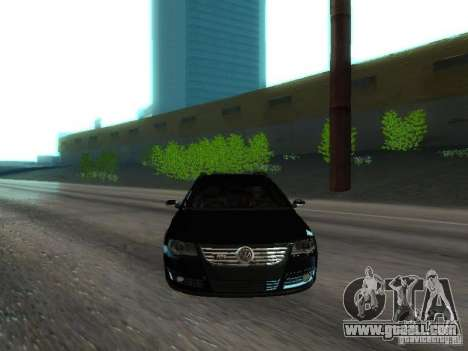 Volkswagen Passat B6 Variant Com Bentley 20 Fixa for GTA San Andreas upper view