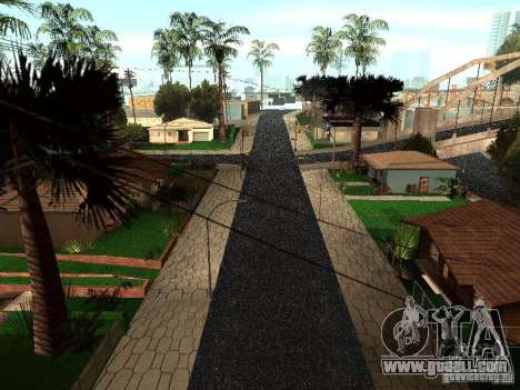 The New Grove Street for GTA San Andreas second screenshot