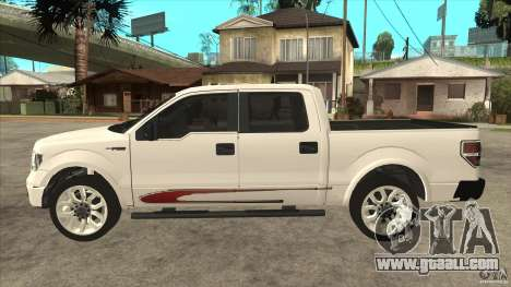 Ford F-150 Harley Davidson for GTA San Andreas left view