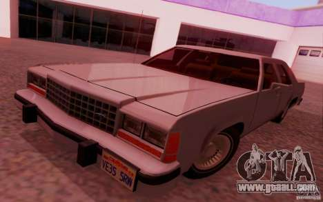 Ford Crown  Victoria LTD 1985 for GTA San Andreas back left view
