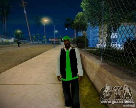 Skins pack gang Grove for GTA San Andreas forth screenshot