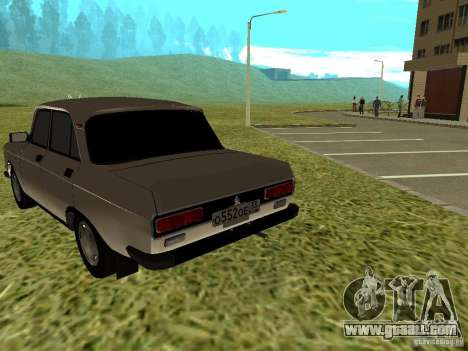 Moskvich 2140 for GTA San Andreas right view