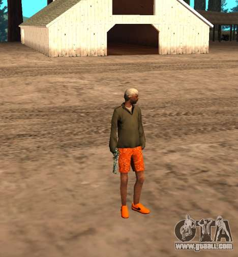 Skin id 212 for GTA San Andreas