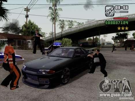 Close Doors for Cars for GTA San Andreas third screenshot
