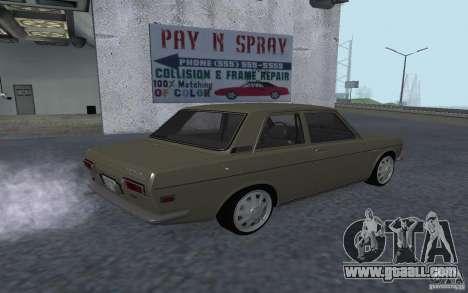 Datsun 510 for GTA San Andreas left view