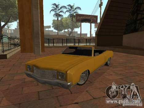 1970 Chevrolet Monte Carlo for GTA San Andreas