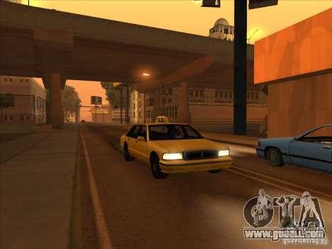 Blood drive v2 for GTA San Andreas second screenshot