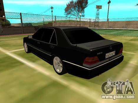Mercedes-Benz S400 SE W140 for GTA San Andreas back left view