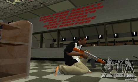 The new AK-47 for GTA San Andreas third screenshot