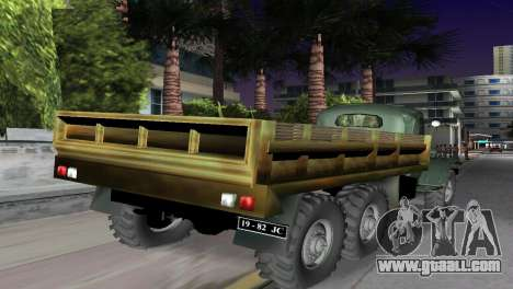 ZIL-157 for GTA Vice City left view