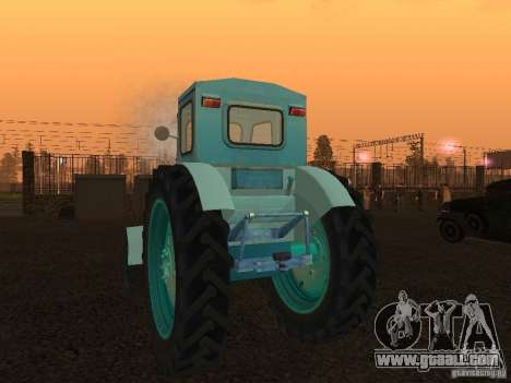 Tractor T-40 m for GTA San Andreas back left view