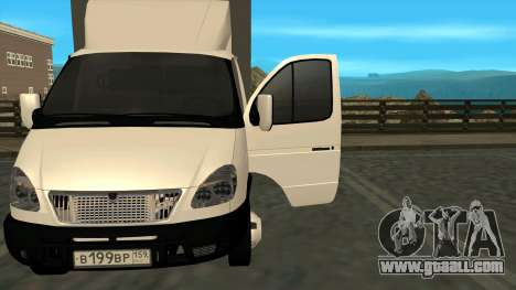 GAZ 3302 Gazelle for GTA San Andreas left view