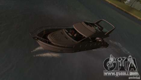 Boat for GTA Vice City left view