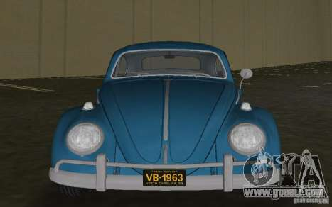 Volkswagen Beetle 1963 for GTA Vice City left view