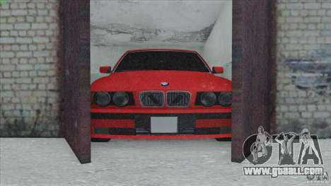 BMW 525i E34 for GTA San Andreas side view