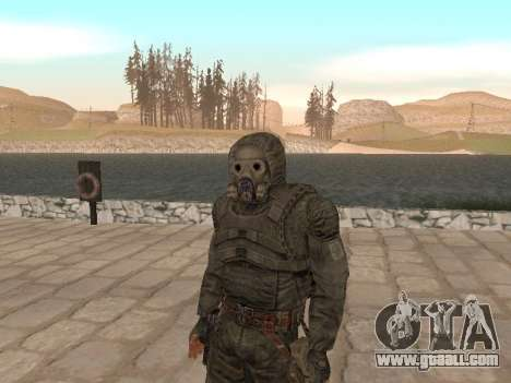 A large Pack of free stalkers for GTA San Andreas fifth screenshot