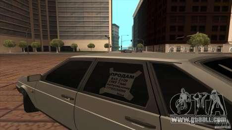 VAZ 2109 Drain for GTA San Andreas right view