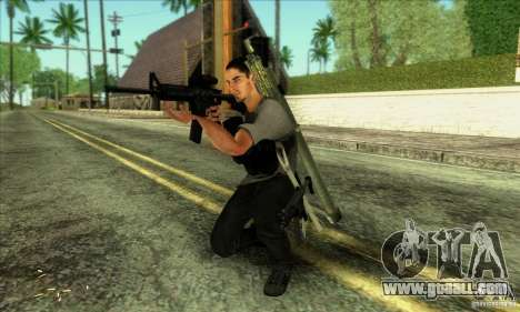 Jack Rourke for GTA San Andreas third screenshot