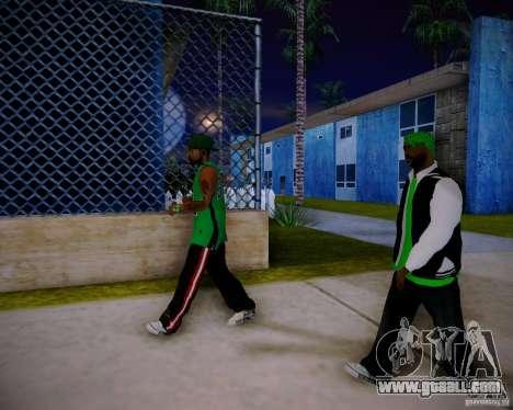 Skins pack gang Grove for GTA San Andreas seventh screenshot