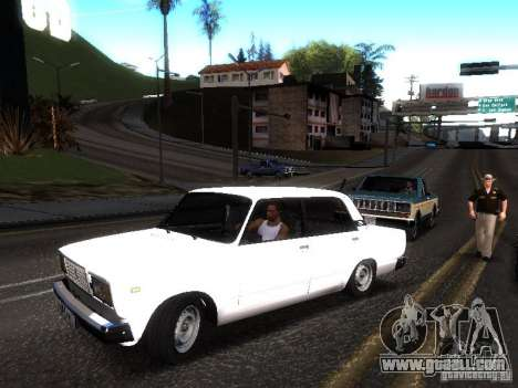 VAZ 2107 DAG for GTA San Andreas