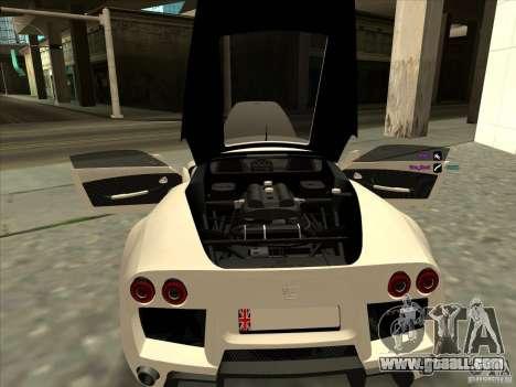 Noble M600 for GTA San Andreas back view