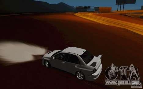 Mitsubishi Lancer Evo VIII GSR for GTA San Andreas side view