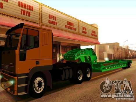 Trailer Iveco Eurotech for GTA San Andreas