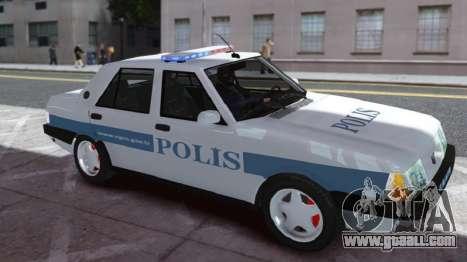 Tofas Sahin Turkish Police ELS for GTA 4 left view