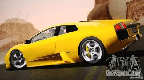 Lamborghini Murcielago 2002 v 1.0 for GTA San Andreas left view