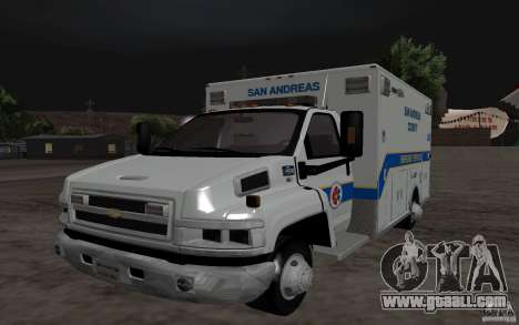 Chevrolet C4500 Ambulance for GTA San Andreas