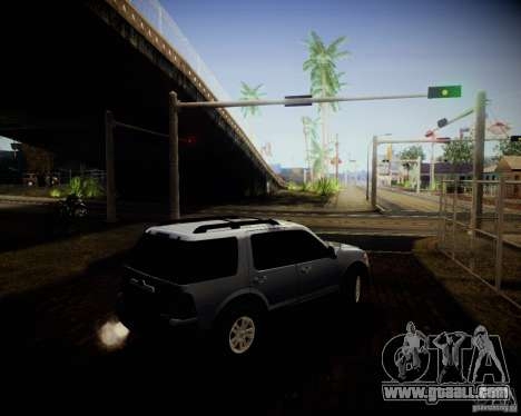 Ford Explorer for GTA San Andreas inner view