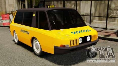 Soviet taxi 1966 for GTA 4