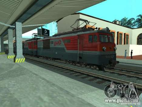 Vl10-1628 RZD for GTA San Andreas left view