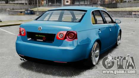 Volkswagen Jetta 2010 for GTA 4 back left view