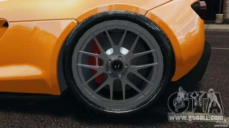 Hennessey Venom GT Spyder for GTA 4 inner view