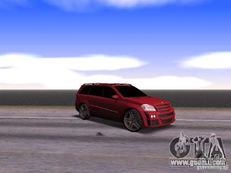 Mercedes-Benz GL500 Brabus for GTA San Andreas back view