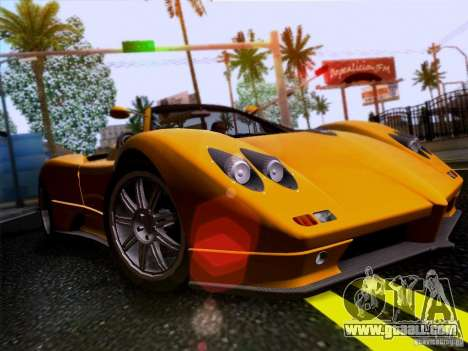 Pagani Zonda C12S Roadster for GTA San Andreas