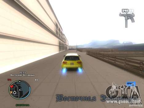 Electronic speedometer for GTA San Andreas third screenshot