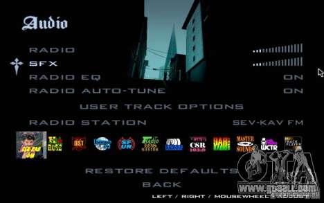 North Cove FM for GTA SA v 1.0 for GTA San Andreas