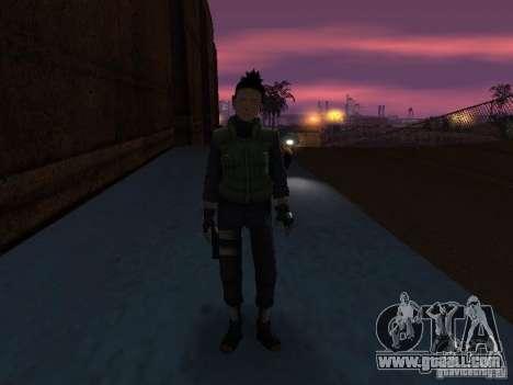 Skin Pack From Naruto for GTA San Andreas sixth screenshot
