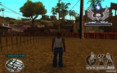 C-HUD awk William for GTA San Andreas third screenshot