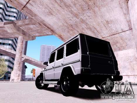Mercedes-Benz G65 2012 for GTA San Andreas side view