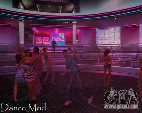 Dance mod for gta vice city for GTA Vice City
