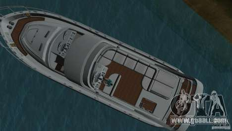 Boat for GTA Vice City back view